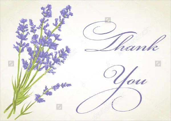 Thank You Card Template Printable Thank You Card Template Free