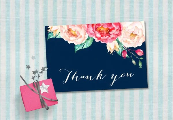 9+ Baby Shower Thank-You Cards - PSD, AI, Word Free  Premium