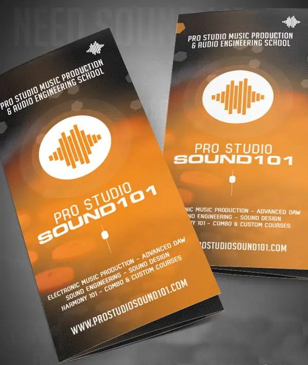9+ Music Brochures - Editable PSD, AI, Vector EPS Format Download - studio brochure