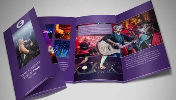 10+ Music Brochures - Editable PSD, AI, Google docs, Apple pages