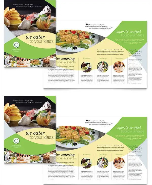 Catering Brochure Ophionco - Catering brochure templates free