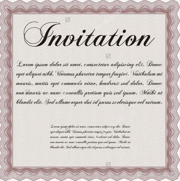 7+ Business Anniversary Invitations - PSD Free  Premium Templates