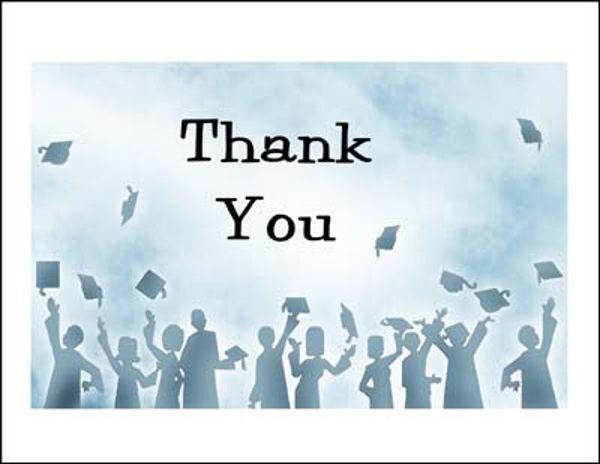 8+ Graduation Thank-You Cards - PSD, AI Free  Premium Templates