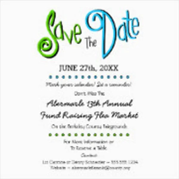 7+ Save-the-Date Event Postcards - Designs, Templates Free