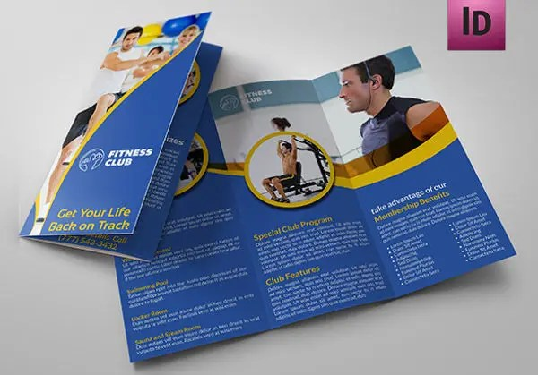 9+ Corporate Fitness Brochures - Editable PSD, AI, Vector EPS Format - Fitness Brochure