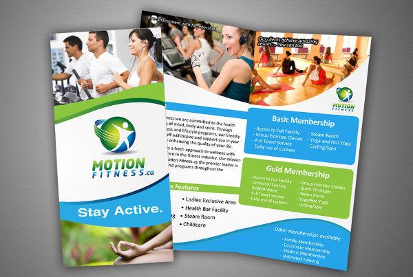 9+ Corporate Fitness Brochures - Editable PSD, AI, Vector EPS Format - Fitness Brochure