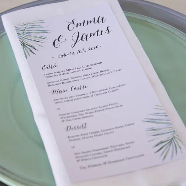 6+ Engagement Party Menu Templates - Designs, Templates Free - party menu template
