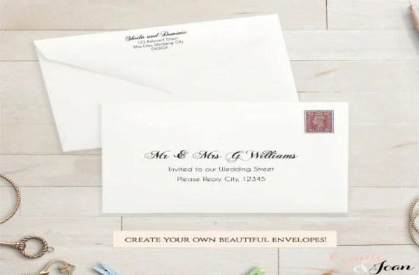 7+ Address Envelope Templates - Printable Word, PSD, PDF Format