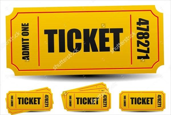 9+ Entry Ticket Templates - Free PSD, AI , Vector EPS Download - entry ticket template