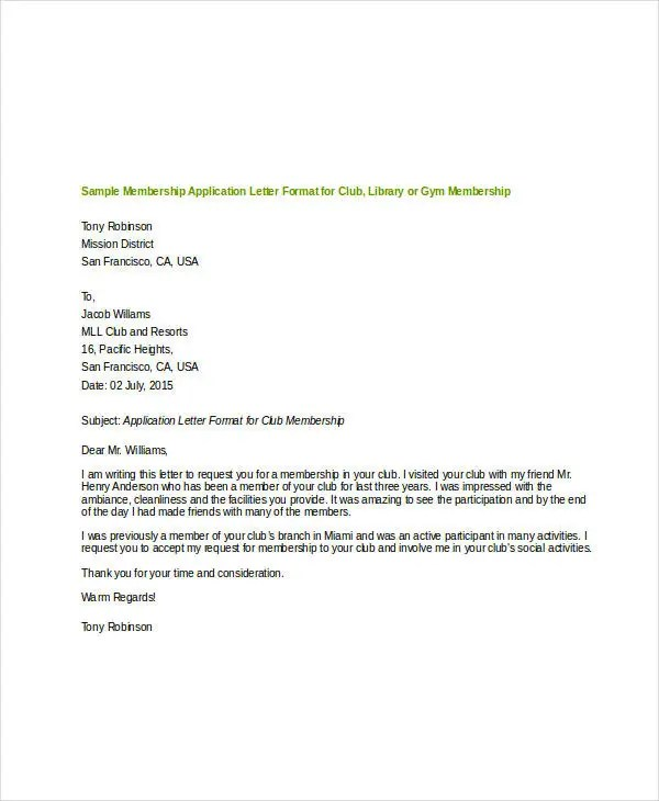 Sample Application Letter Format Cover Letter Samplecover Letter - application letter format