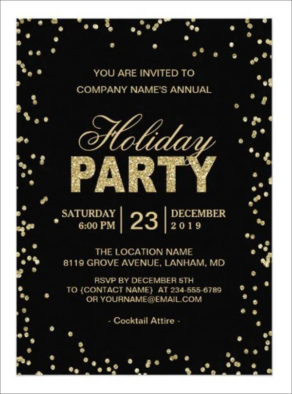 corporate invitation sample