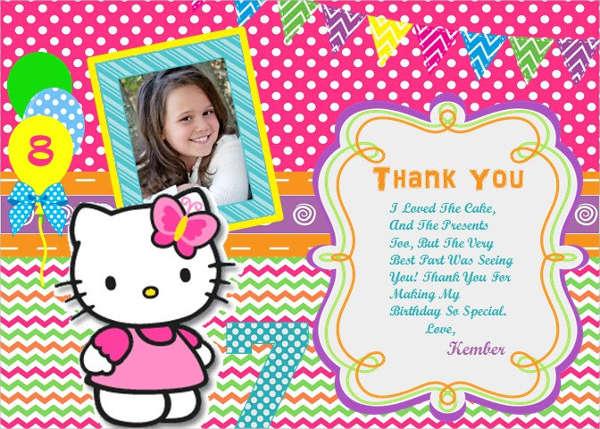 11+ Hello Kitty Photo Invitations - Word, PSD, InDesign, AI Free