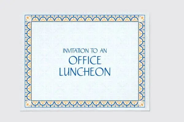 8+ Business Lunch Invitations - JPG, Vector EPS, Ai Illustrator - lunch invitation template