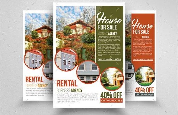 9+ For Sale Flyers - Designs, Templates Free  Premium Templates - house sale flyer