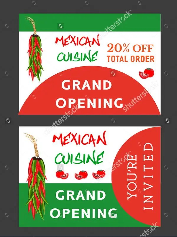 7+ Restaurant Opening Flyers - Editable PSD, AI, Vector EPS Format - grand opening flyer