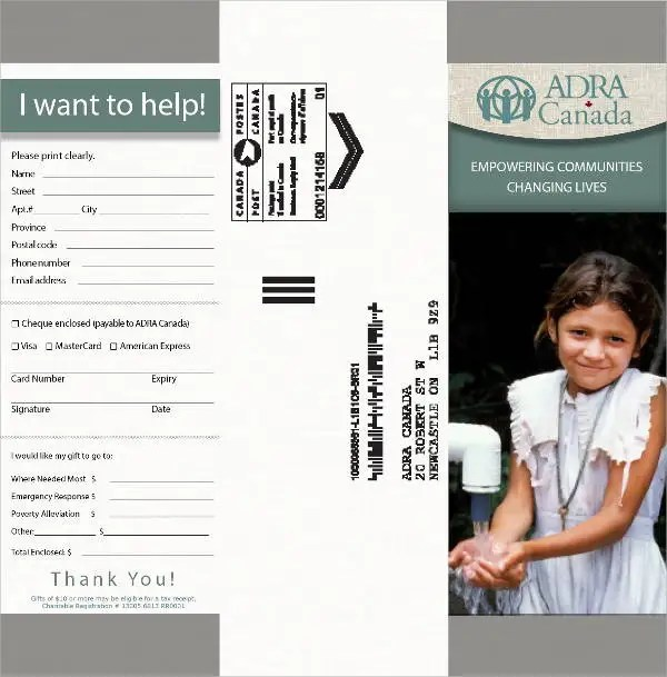 5+ Donation Envelope Templates - PSD Free  Premium Templates