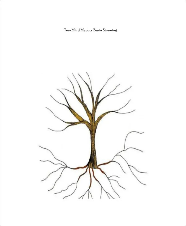 Tree Map Template - 6+ Free PDF Documents Download Free  Premium - mind mapping template