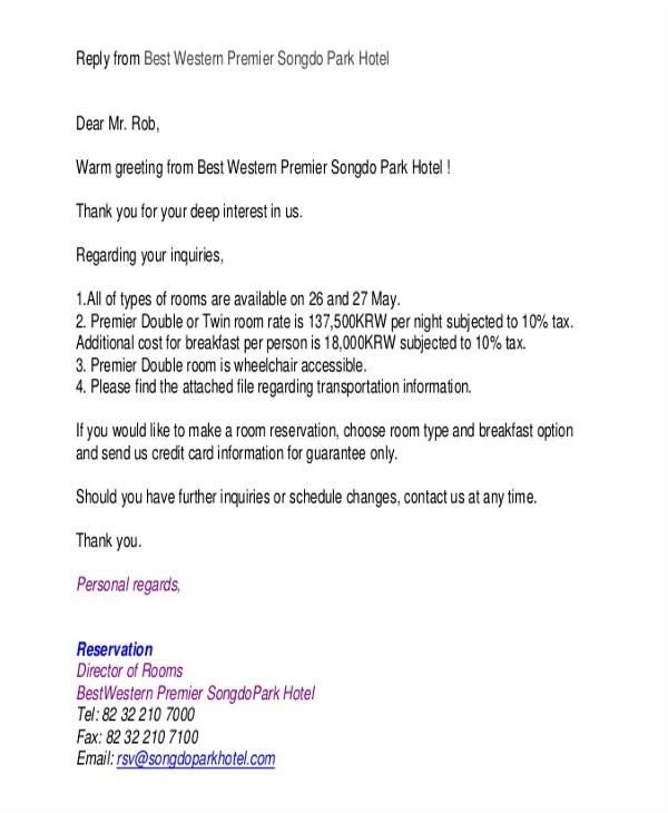 Reservation letter kicksneakers cancellation of room reservation letter sample letters inducedinfo spiritdancerdesigns Choice Image