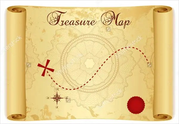 6+ Treasure Map Templates - Free Excel, PDF Documents Download - Map Template