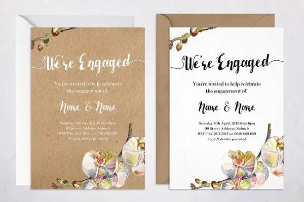 7+ Rustic Engagement Invitations - JPG, Vector EPS, AI Illustrator