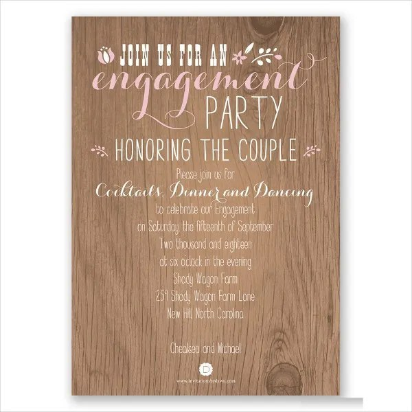 9+ Surprise Engagement Party Invitations - JPG, Vector EPS, Ai - surprise engagement party