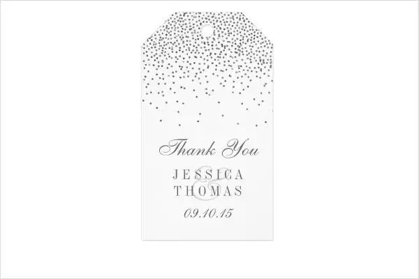 9+ Wedding Gift Tags - PSD, Vector EPS Free  Premium Templates