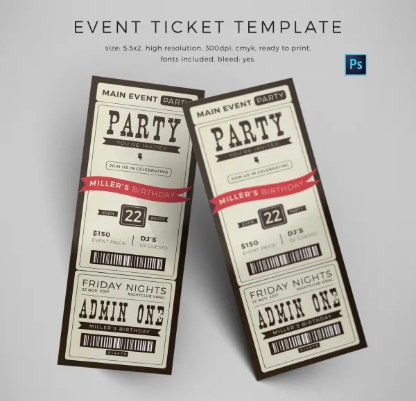 Event ticket maker nfgaccountability – Free Event Ticket Maker