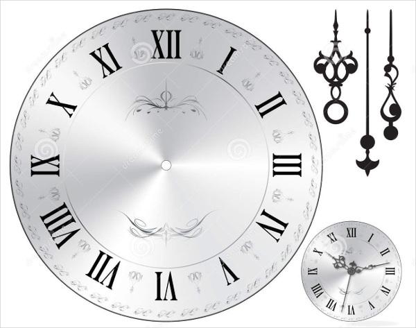 8+ Wall Clock Templates - PSD, Vector EPS Free  Premium Templates
