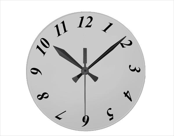 6+ Digital Clock Templates - PSD, Vector EPS, AI Illustrator - clock face template