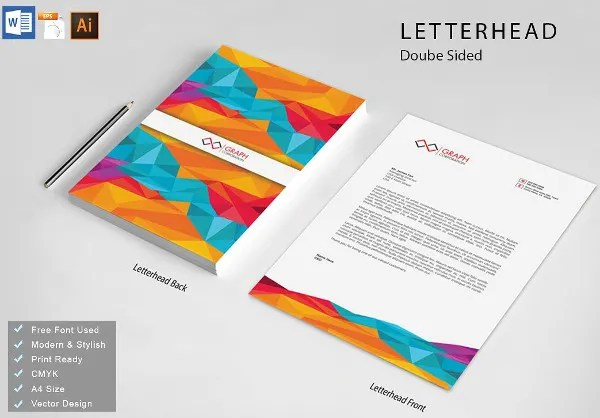 9+ Professional Business Letterhead Templates - Free Word, PDF, PSD