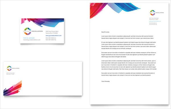 9+ Small Business Letterhead Templates - Word, PSD, Vector EPS