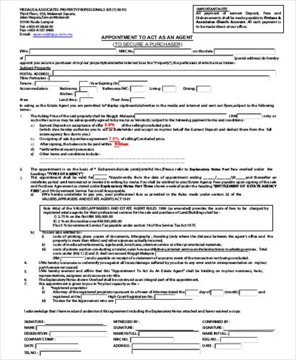 Legal Format Of Appointment Letter And Fer Letter Sample Template8