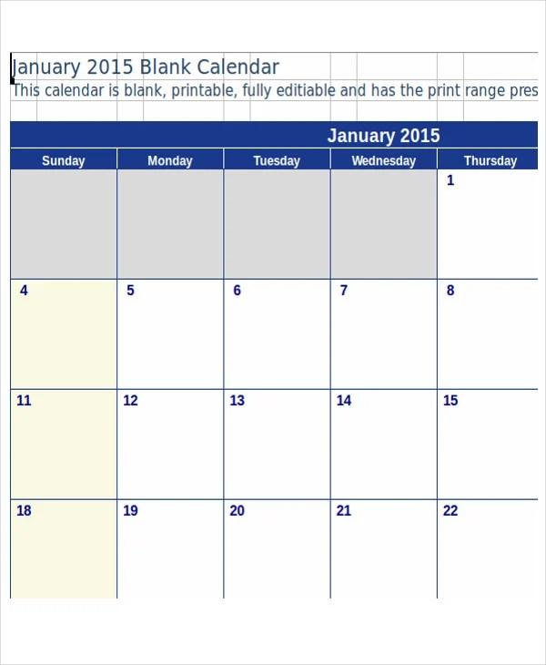 Budget Calendar Template Free  Premium Templates