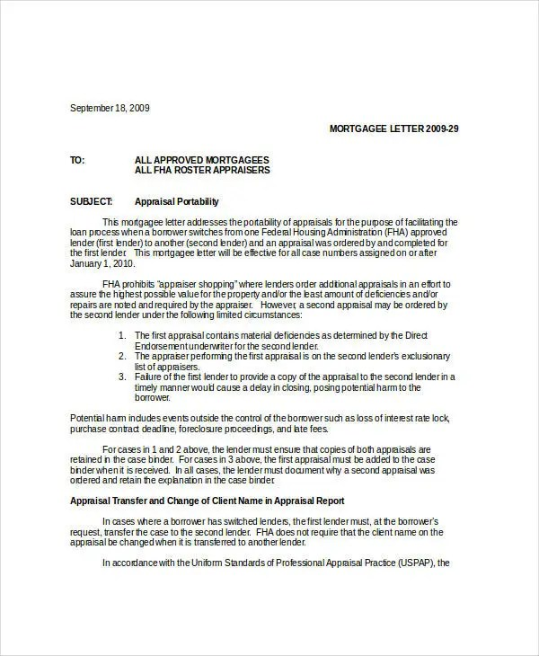 Appraisal Transfer Letter Template - 5 Free Word, PDF Format - letter of purchase request