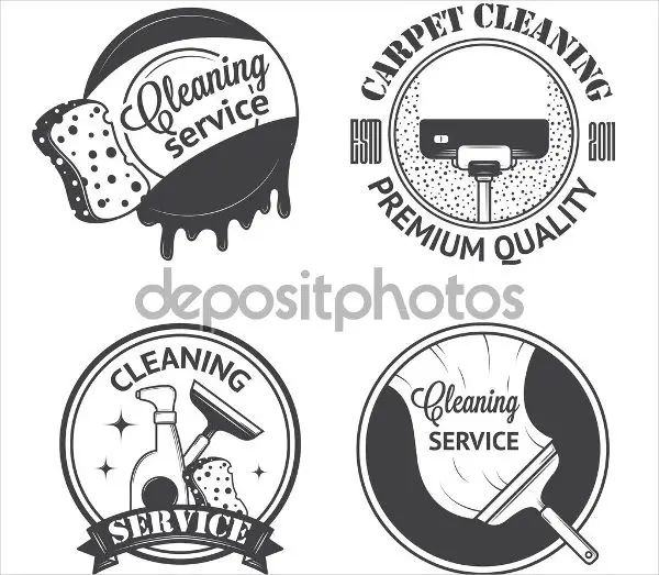 free cleaning company logos