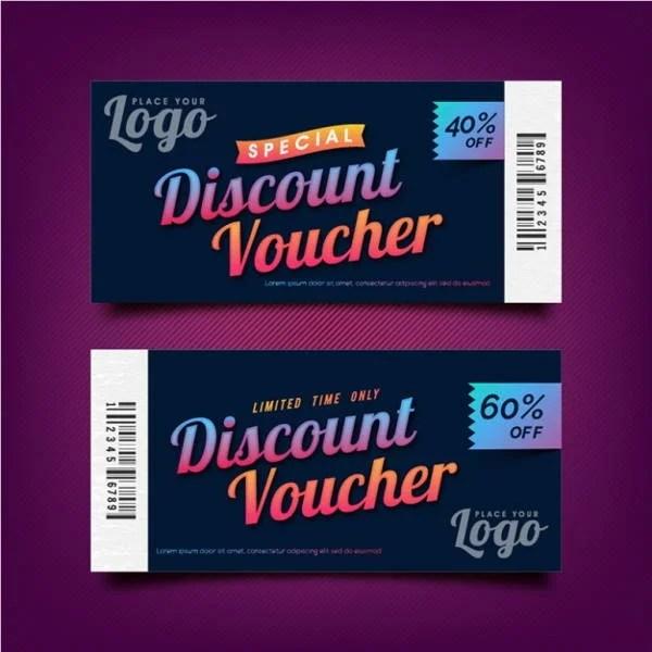 Discount coupon templates free / Blood milk coupon