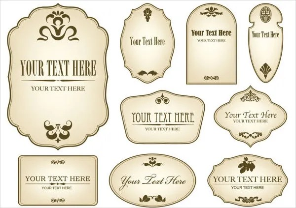 12+ Vintage Bottle Label Templates - Free Printable PSD, Word, PDF