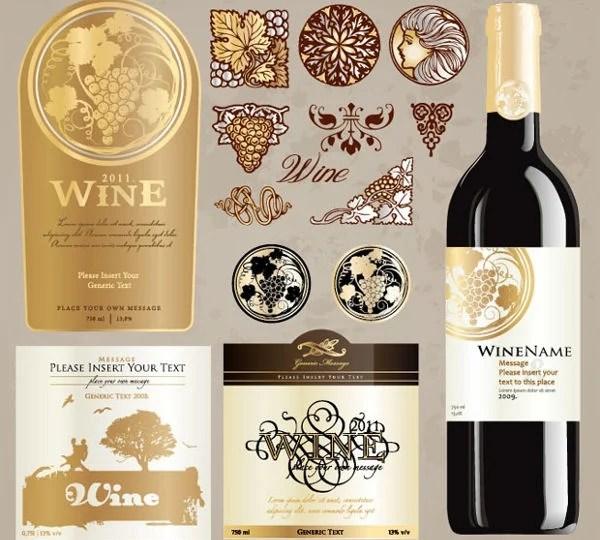 9+ Vintage Bottle Label Templates - Free Printable PSD, Word, PDF - free wine bottle label templates
