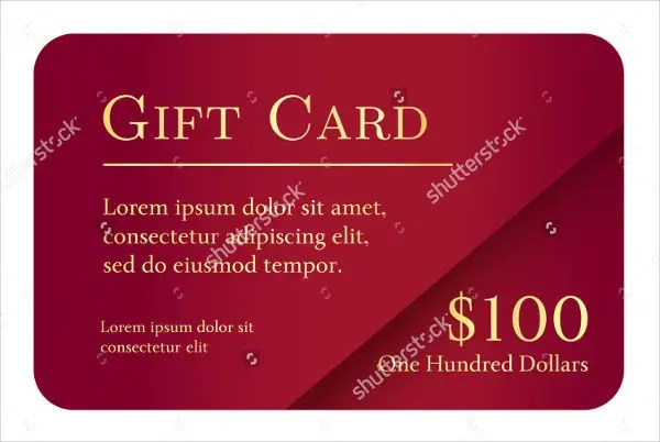 8+ Vintage Gift Card Templates - Free PSD, Vector EPS, PNG Format - gift card template