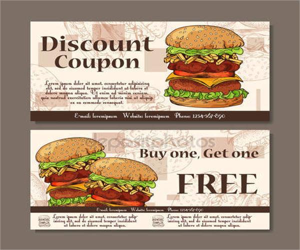 19+ Food Voucher Templates - PSD, Vector EPS, AI Free  Premium