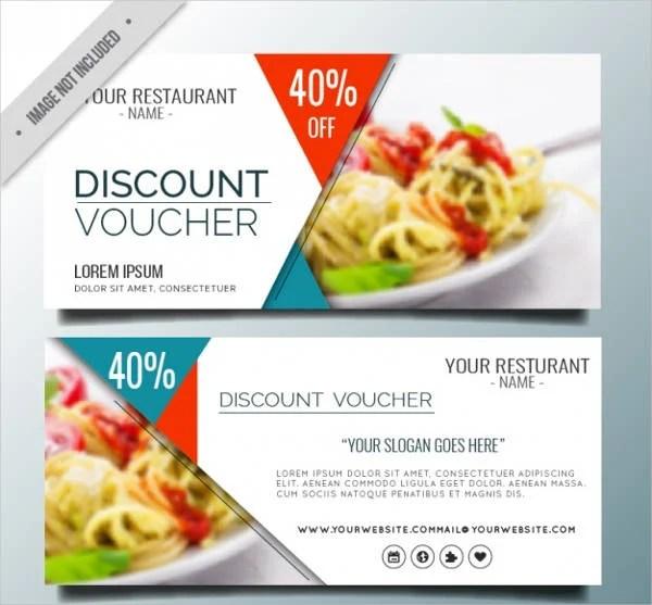 7+ Dinner Voucher Templates - Free PSD, Vector AI, EPS Format - food voucher template