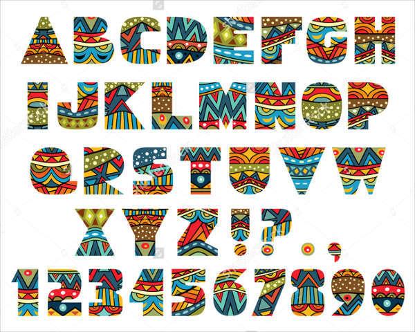 8+ Script Alphabet Letters - Free PSD, EPS, Format Download Free