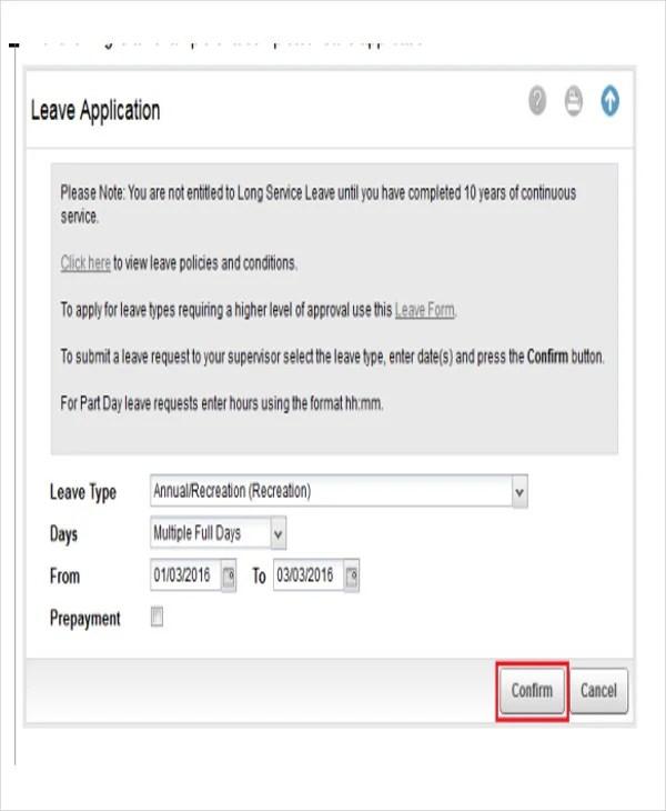 5+ Leave Application E-mail Templates - Free PSD, EPS, AI Format