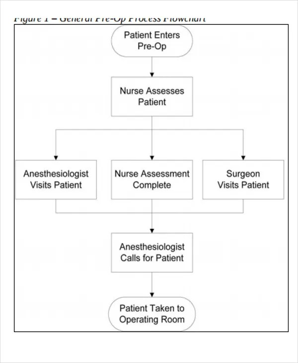 5+ Nursing Flow Chart Templates - 5+ Free Word, PDF Format Download - flowchart templates word