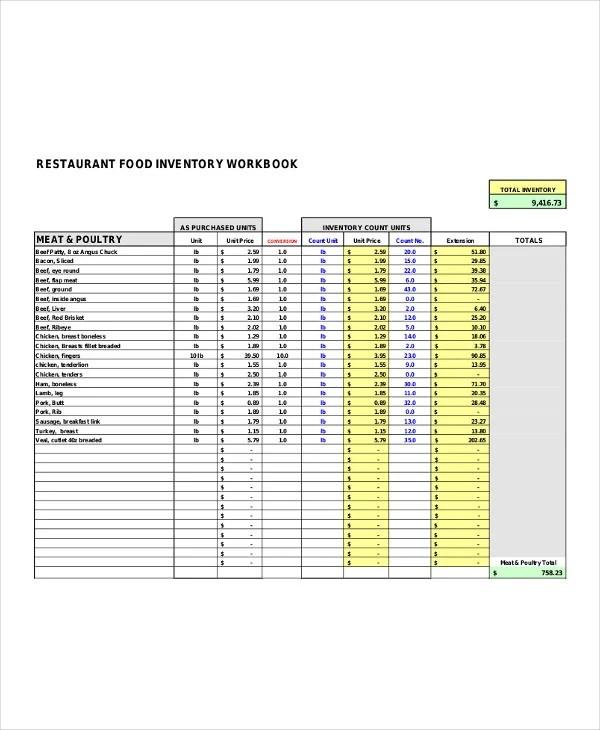 inventory list templates - Artij-plus
