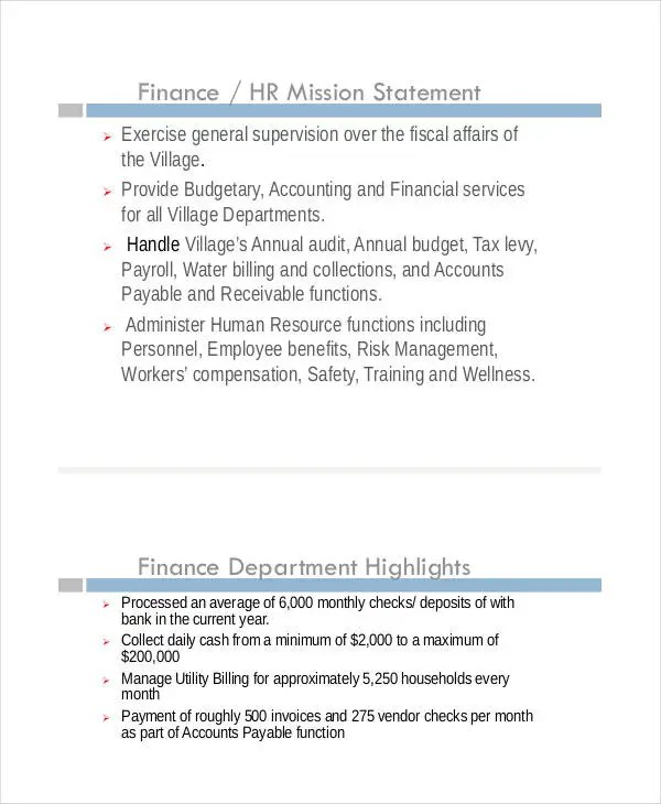 Financial Presentation Templates - 7+ Free Excel, PDF, Documents - income statement inclusions