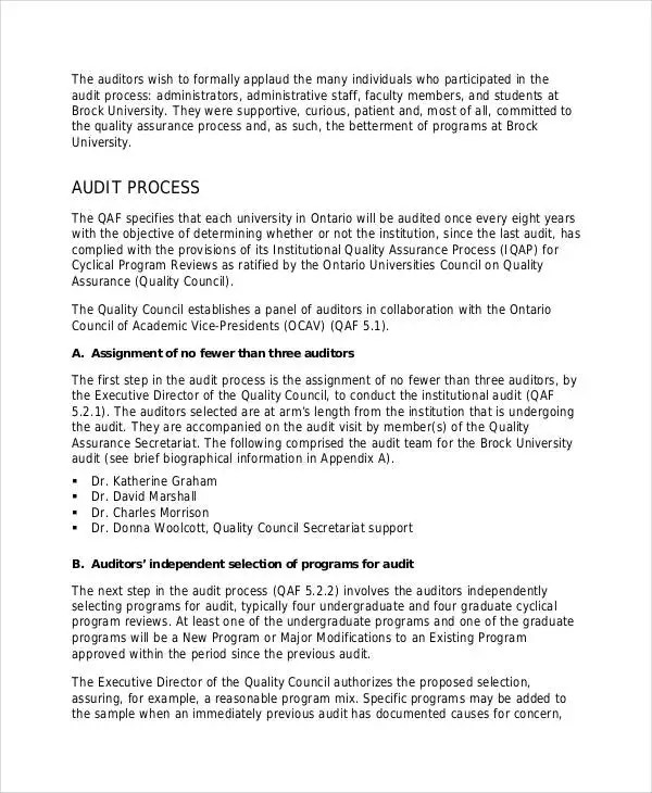 Audit report formats node2003 cvresumeasprovider quality audit report templates 10 free word pdf format audit report formats altavistaventures Image collections