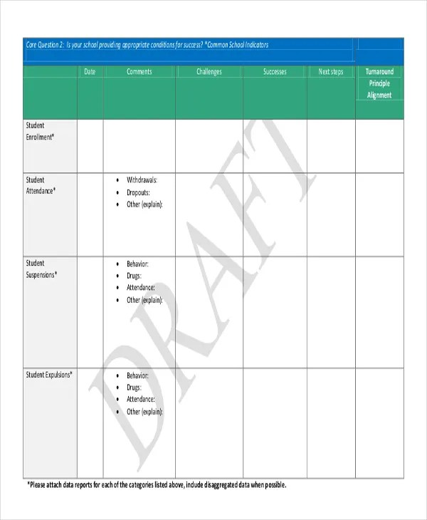 9+ Monthly Student Report Templates - Free Word, PDF Format Download