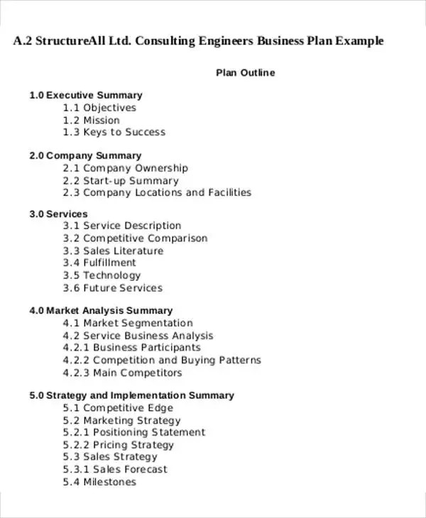 13+ Consulting Business Plan Templates - Free Word, PDF Format