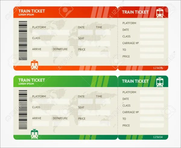 6+ Travel Ticket Templates - Free PSD, AI, Vector EPS Format - airplane ticket template